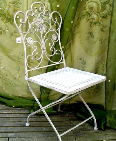 eisenstuhl gartenromantik wif014 palazzo int. Black Bedroom Furniture Sets. Home Design Ideas