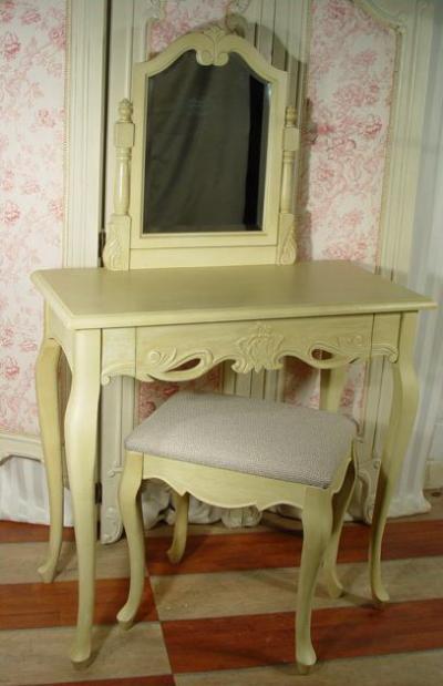 frisierkommode mit hocker frf35ab palazzo int. Black Bedroom Furniture Sets. Home Design Ideas