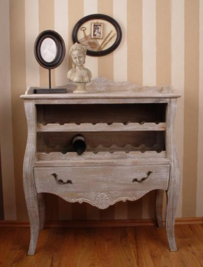 landhausstil weinregal hmc204 palazzo int. Black Bedroom Furniture Sets. Home Design Ideas