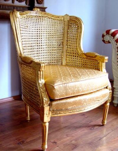 ohrensessel im barock stil aes cat678 palazzo int. Black Bedroom Furniture Sets. Home Design Ideas