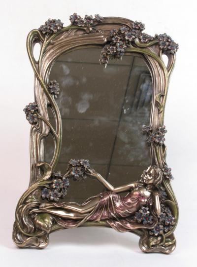 Romantischer spiegel an10352a4 palazzo int for Spiegel zum aufstellen
