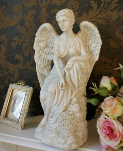 statue schutzengel zp024 palazzo int. Black Bedroom Furniture Sets. Home Design Ideas