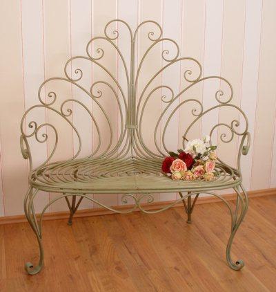 vintage gartenbank hys004 palazzo int. Black Bedroom Furniture Sets. Home Design Ideas