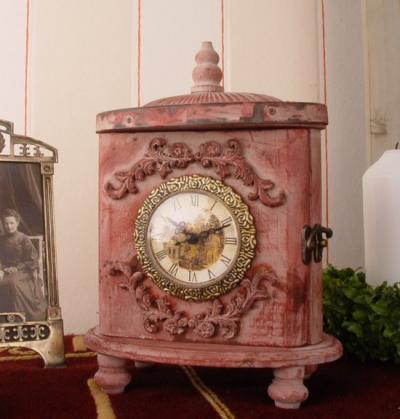 Vintage tischuhr awc020 palazzo int - Vintage holzmobel ...