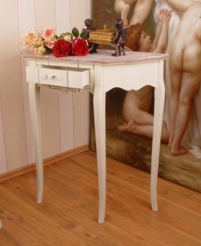 weisse vintage konsole hmb02 palazzo int. Black Bedroom Furniture Sets. Home Design Ideas